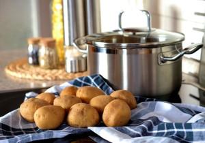 ziemniaki, garnek